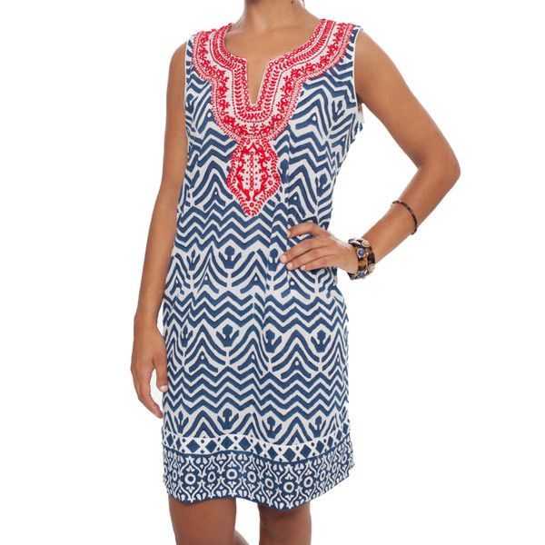 Sleeveless Aztec Dress from Tnuck - love this but so pricey bah!