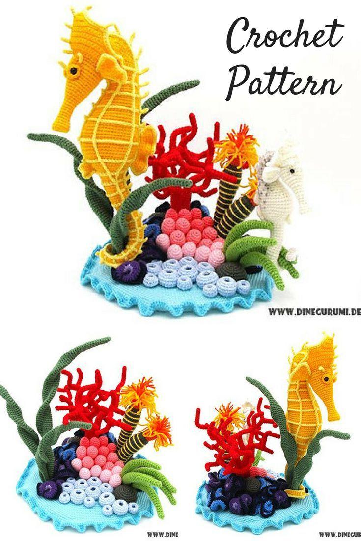 Amigurumi Seahorse Crochet Pattern Printable PDF #ad #amigurumi #amigurumidoll #amigurumipattern #amigurumitoy #amigurumiaddict #crochet #crocheting #crochetpattern #pattern #patternsforcrochet #printable #instantdownload #amigurumilove #crochettoys #pdf #crochetlove #seahorse #underthesea #download #downloadandprint