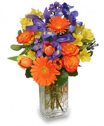 Happiness Grows Arrangement In Richland Wa Arlenes Flowers And