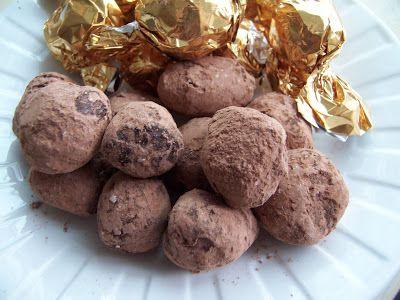 Kirsten's Recipes: Dark Chocolate Brandy Truffles