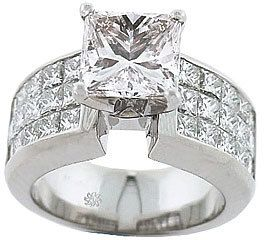 this all princess cut diamond ring is simular to my dream one!