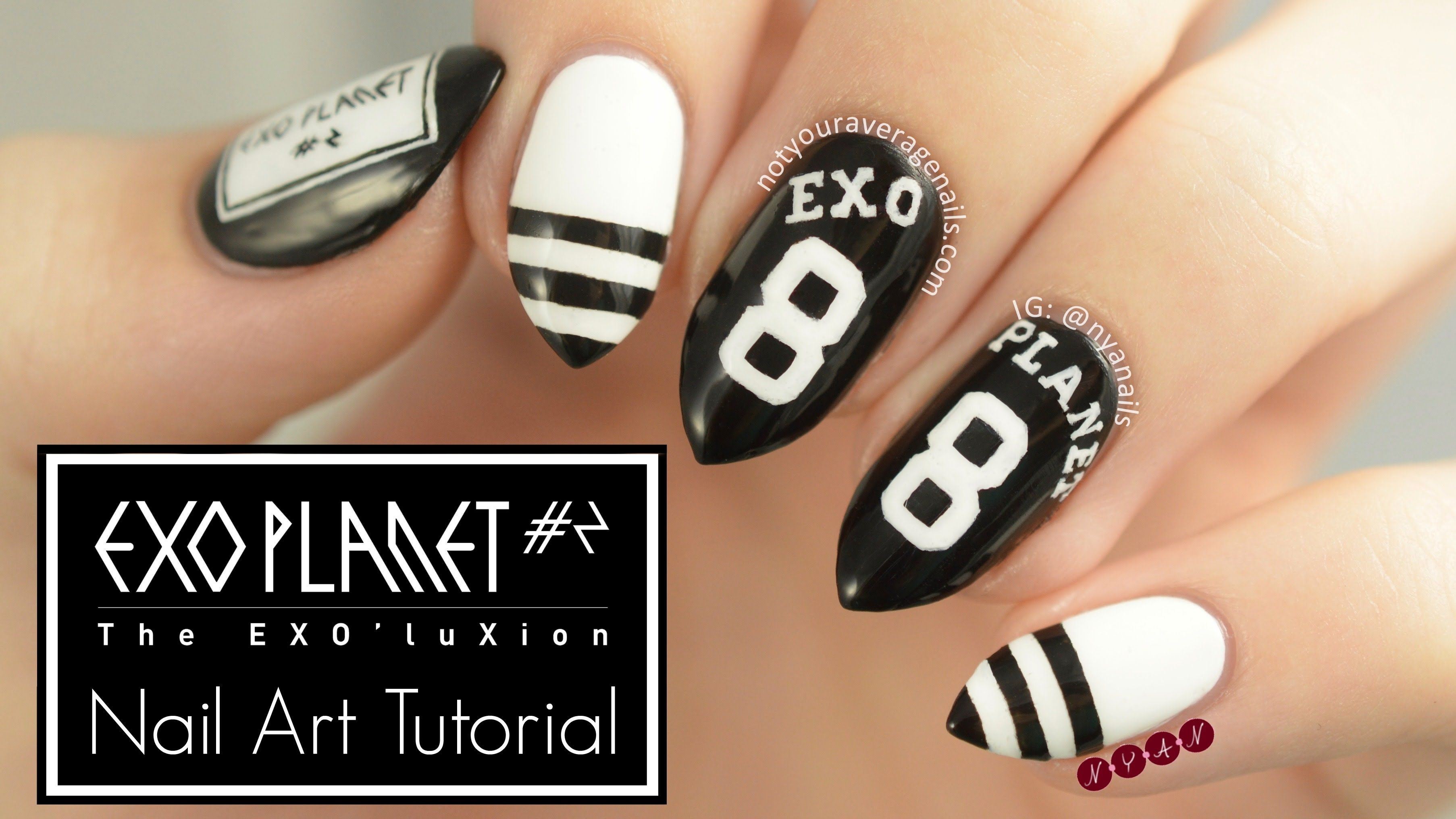 Exoluxion nail art tutorial by not your average nails nail art exoluxion nail art tutorial by not your average nails prinsesfo Image collections