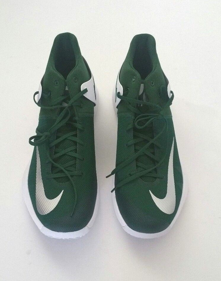 new product 13135 9dde1 Nike Men s 856484-331 Zoom KD Trey 5 IV Basketball Shoes Green White Size  16.5