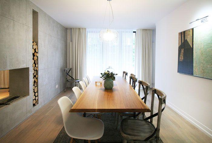 Tencuiala Decorativa De Interior.Tencuială Decorativă Cu Efect De Beton Aparent Realizată Cu