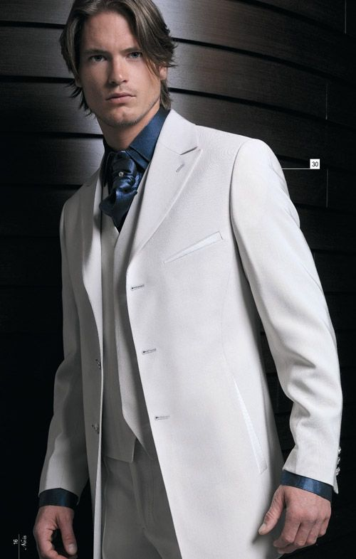 Expensive White Wedding Suit | Groom Wedding Suit | Pinterest ...