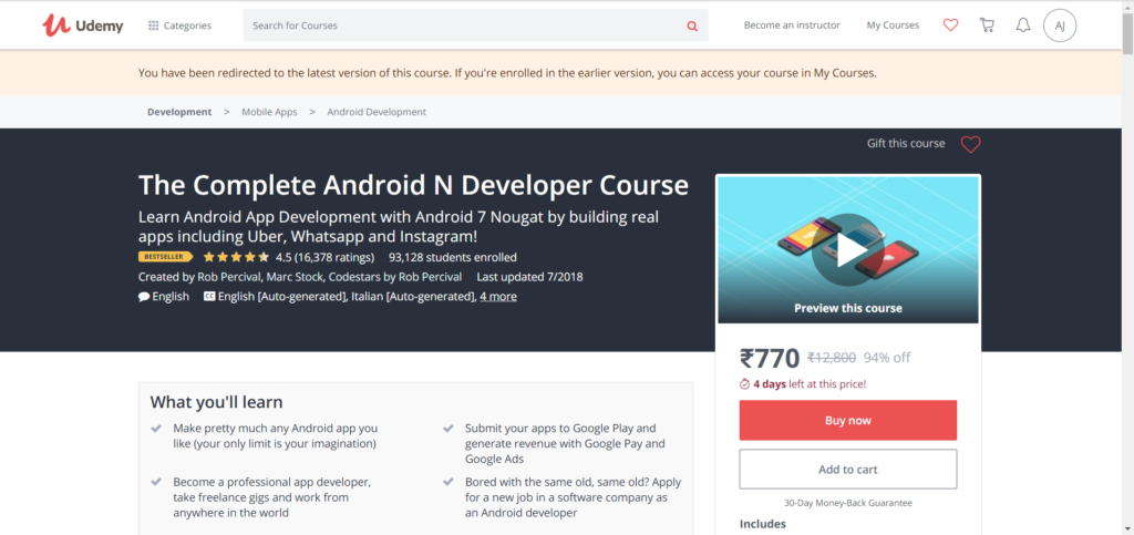 Best Resources to Learn Android App Development in 2018
