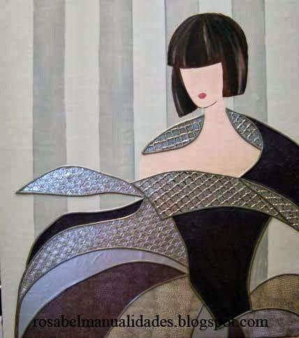 Rosabel manualidades cuadro de menina pinteres - Manualidades cuadros modernos ...