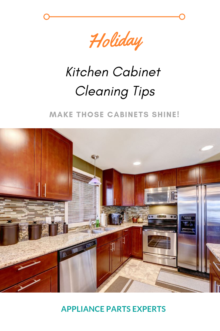 Easy Diy Way To Clean Up Your Kitchen Cabinets Before The Holidays