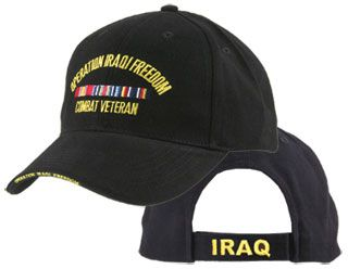 IRAQI FREEDOM COMBAT VETERAN HAT 3 LOCATION IRAQI FREEDOM COMBAT VETERAN HAT  3 LOCATION  EC-5359  -  20.00   Hat n Patch 4447cbb4c37