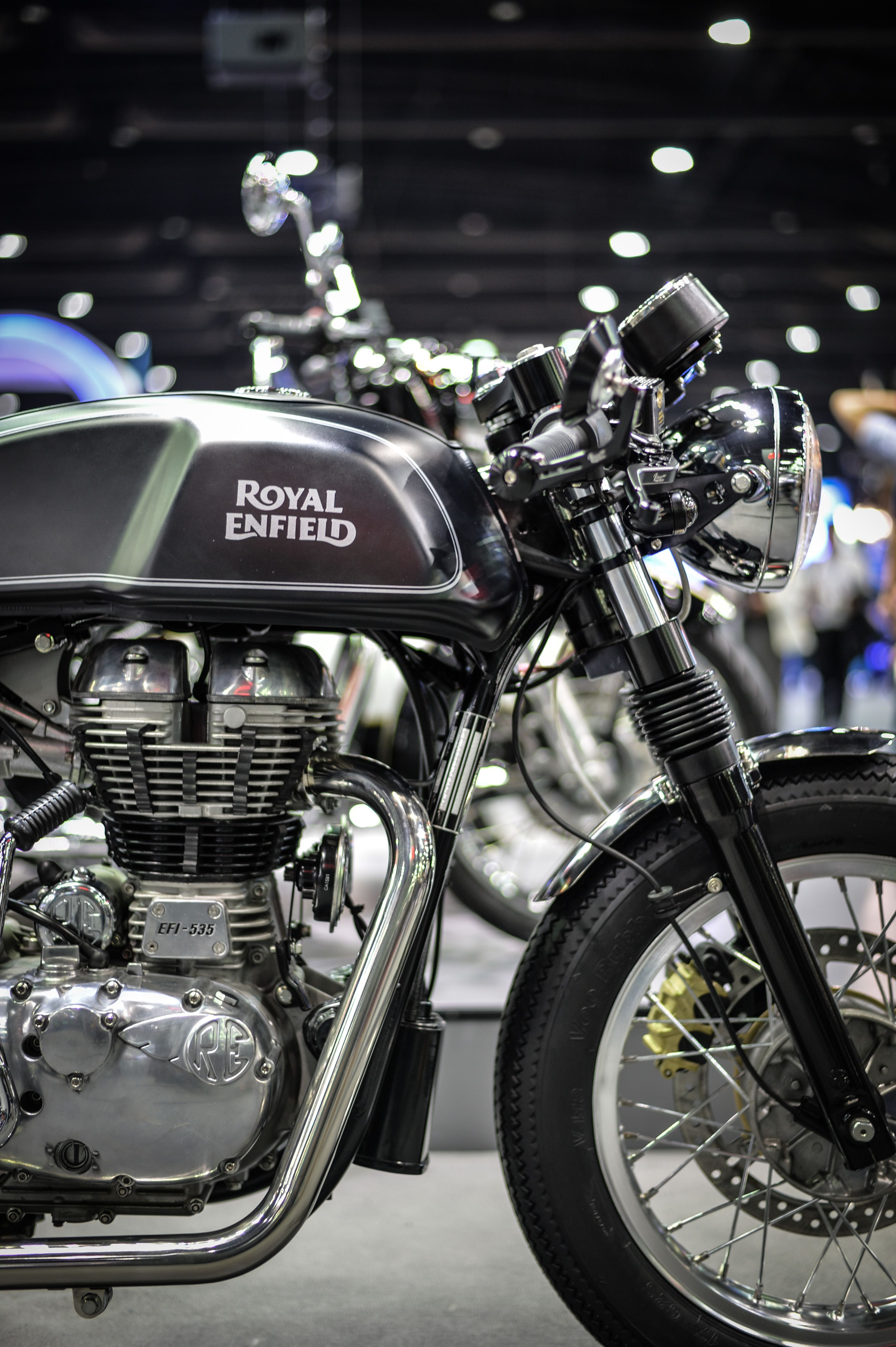 Royal Enfield Continental Gt Libero Moto Cafe Racer Royal