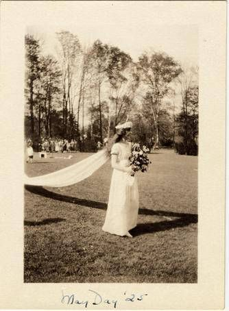 May Queen 1925 :: Archives & Special Collections Digital Images