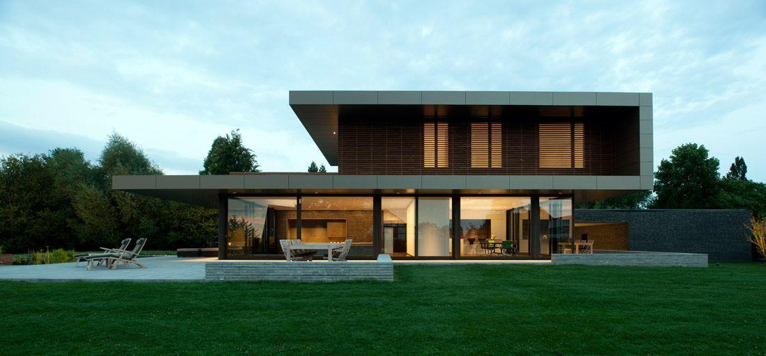 Captivating Seitenansicht EFH Einfamilienhaus Haus P In Düsseldorf, Architek: Martin  Heiderich