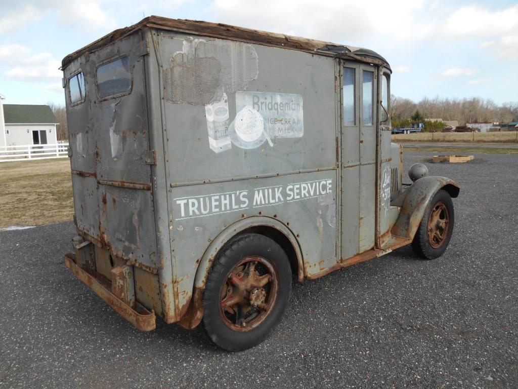 Early Devco Milk Truck Vintage Trucks Panel Truck Step Van