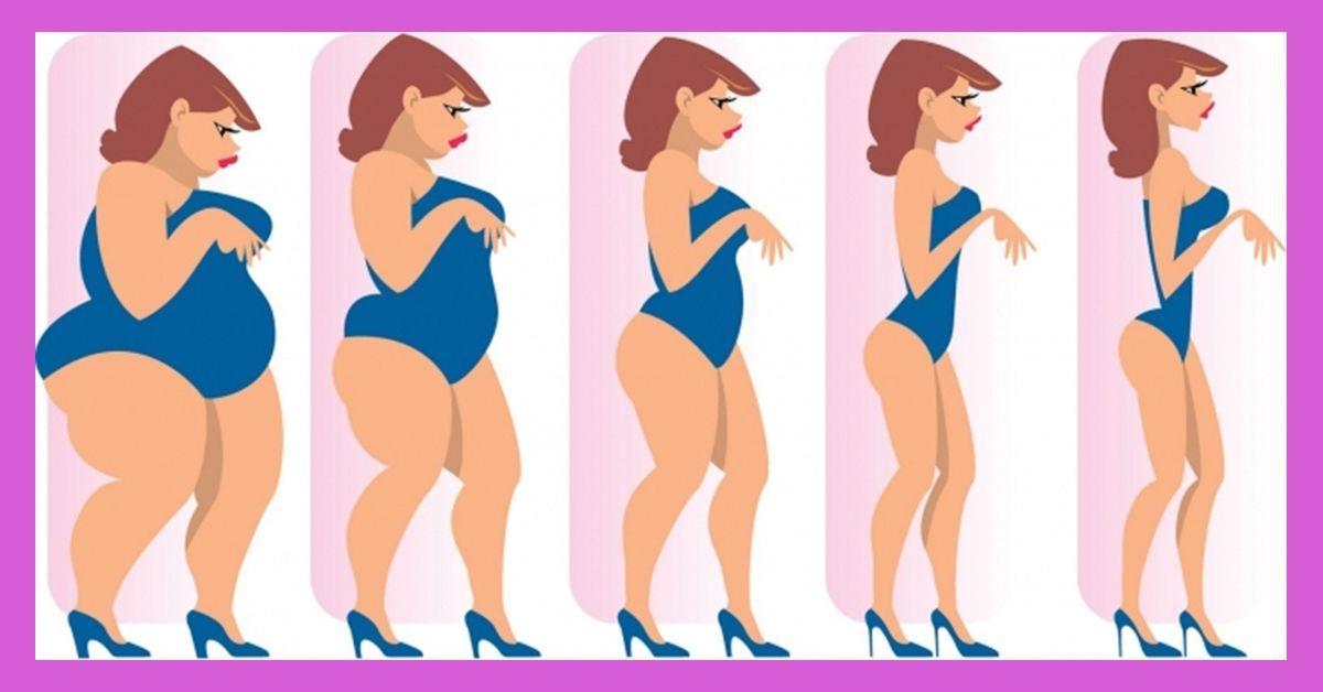 сбросить лишний вес без диет