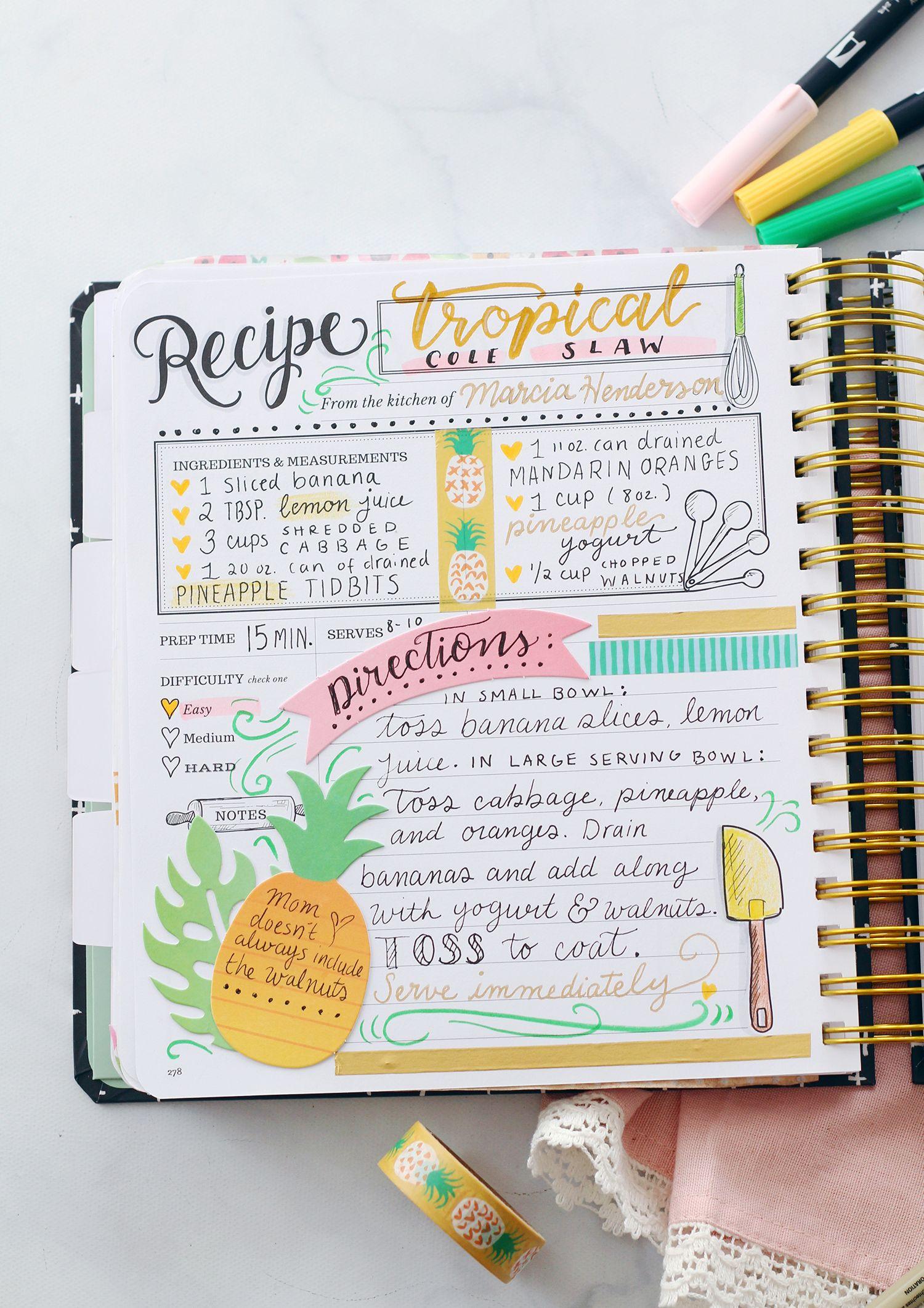 35 Beautiful Picture Of Scrapbook Cookbook Ideas How To Make Scrapbook Cookbook Ideas How To Make Cra Scrapbook Recipe Book Recipe Book Diy Recipe Book Design