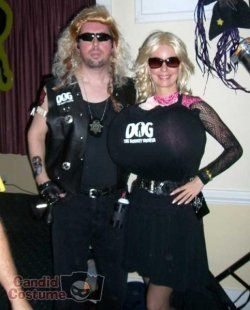 Dog The Bounty Hunter And Beth Chapman Costumes Make Great Couples