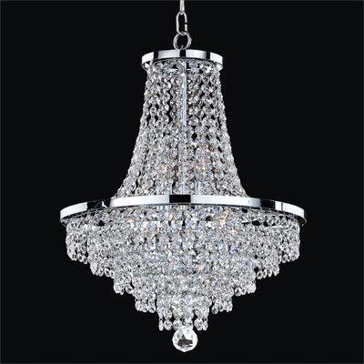Willa Arlo Interiors Thorpe 8 Light Unique Statement Empire Chandelier In 2020 Crystal Chandelier Ceiling Lights Chandelier Lighting