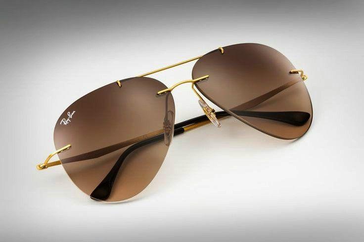f500b56f2fc45 Women s Aviator Sunglasses-Ray Ban Round Metal Gold