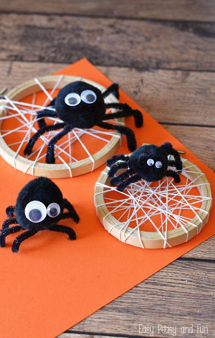 Silly Spider Craft Halloween crafts for kids, Spider