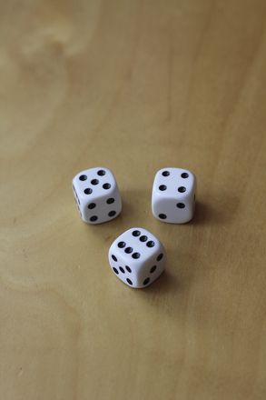 Discuss probability, the measure of how likely it is an event will occur, as you work to figure out whether the odds of successfully rolling the 3 numbers during the three rounds of play are in the player's favor. All you need is a set of three dice, and you can get rolling!