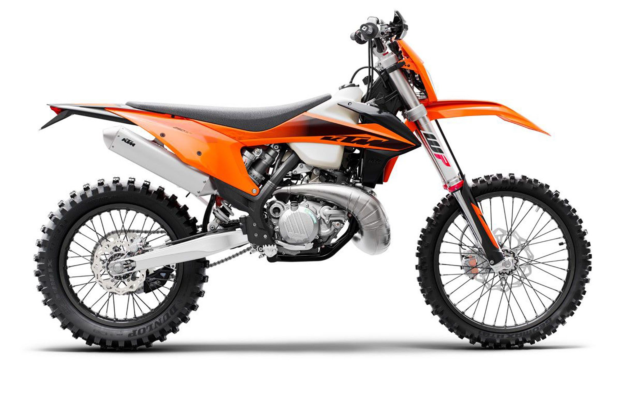 KTM LAUNCHES A NEW GENERATION OF ENDURO MACHINES (With