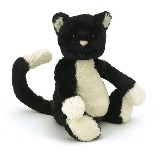 Bashful Katze Kuscheltier von Jellycat - Bonuspunkte sammeln, auf Rechnung bestellen, DHL Blitzlieferung!