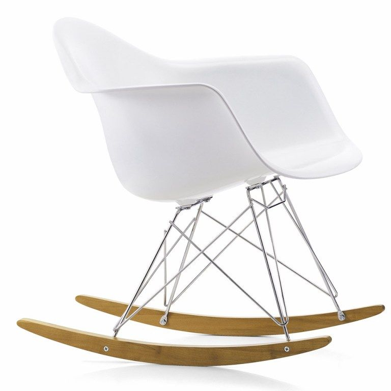 Furniture: Elegant Eames Rocking Chair Kmart Also Eames Style Rocking Chair  Grey From 3 Tips