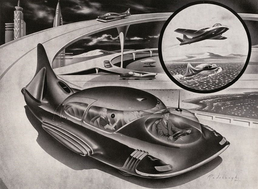 A Brief History Of The Evolution Of Futuristic Cars