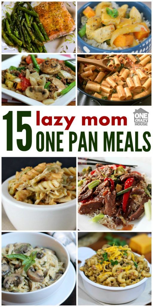 A lazy moms one pan dinners lazy dinners and recipes a lazy moms one pan dinners forumfinder Choice Image
