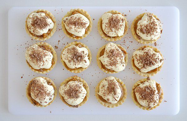 Super Easy Caramel Tarts The Organised Housewife Recipe Caramel Tart Aussie Food Baked Caramel