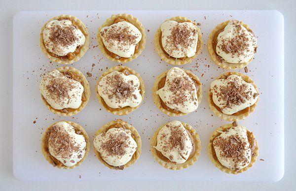 Super Easy Caramel Tarts The Organised Housewife Recipe Caramel Tart Aussie Food Baked Caramel