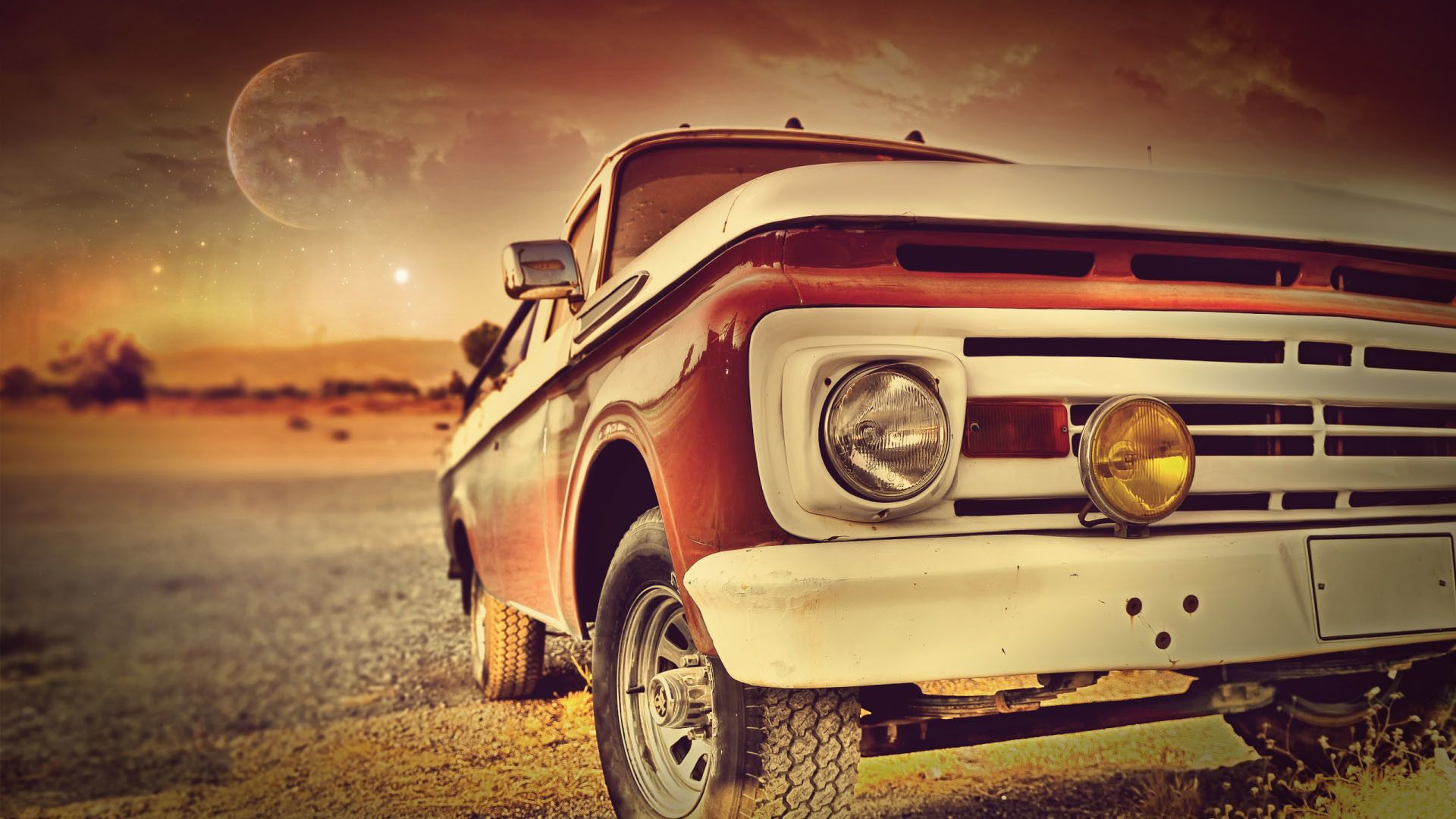 Vintage Red Car In The Sunset Old Car Cars Wallpapers Download Beautiful Hd Wallpaper 1080p 2160p Uhd 4k Hd Classic Cars Vintage Retro Cars Car Wallpapers