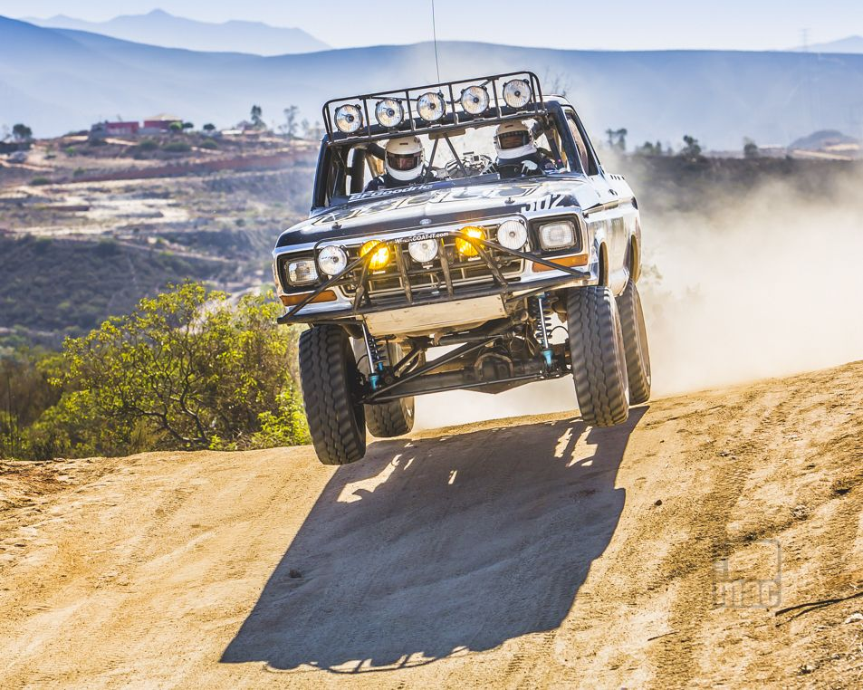 Moss Brothers Ford Bronco Baja 1000 Photo Donni Mac Marysville