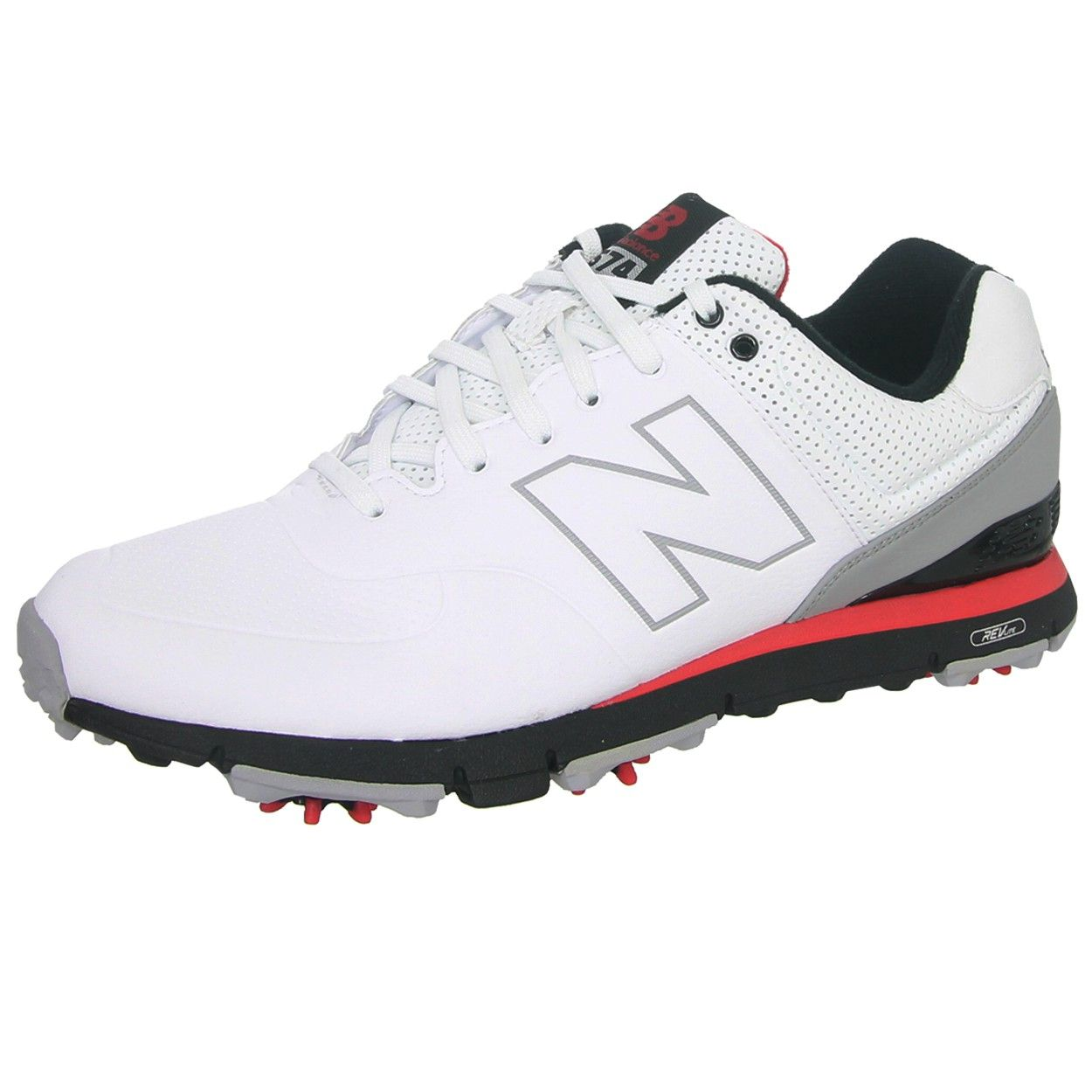 transferencia de dinero Saga director  New Balance NBG574 Men's Leather Golf Shoes | Golf shoes mens, Womens golf  shoes, Golf outfit