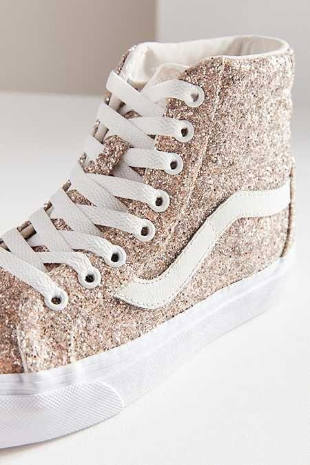 3d968edaa41 Vans Chunky Glitter Sk8-Hi Reissue Sneaker