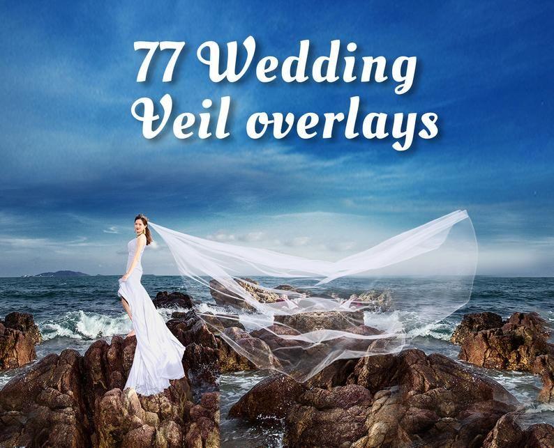 80 Wedding Veil Overlays Wedding Dress Overlays Flying Fabric Overlay Photoshop Overlay Create Great Wedding Photos Digital Download Png Wedding Veil Photoshop Overlays Overlays