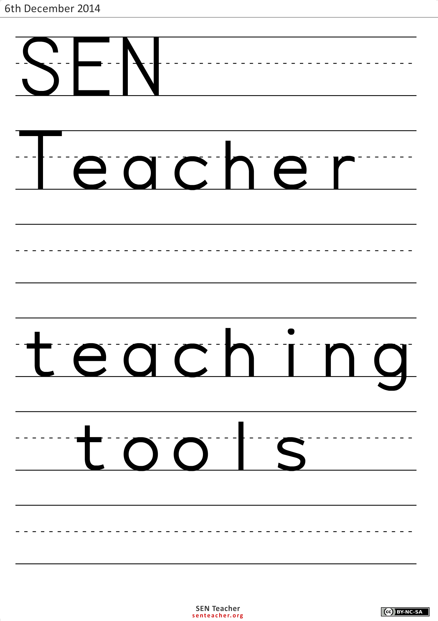 Teaching Tools Materials Creating Your Own Worksheets