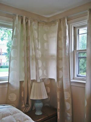 Corner Rods Short Rods W Panels Corner Curtains Corner Rod Cool Curtains