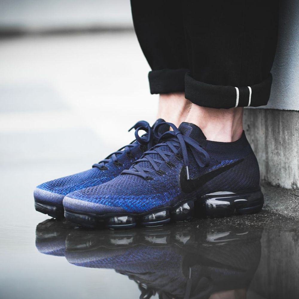 premium selection 16be7 24706 Nike Air VaporMax (849558-400) Collegiate Navy New Arrival #solecollector  #dailysole