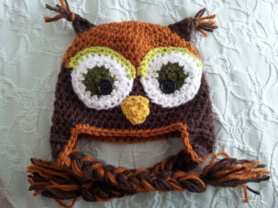 Hey, I found this really awesome Etsy listing at http://www.etsy.com/listing/112876655/autumn-owl-hat-for-babies-and-toddlers