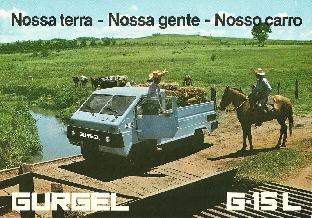 1981 Gurgel G-15 L - Brasil