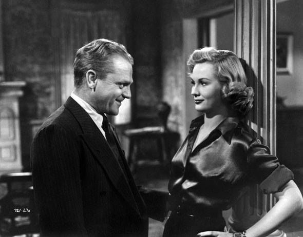 Virginia Mayo and James Cagney in White Heat (1949)