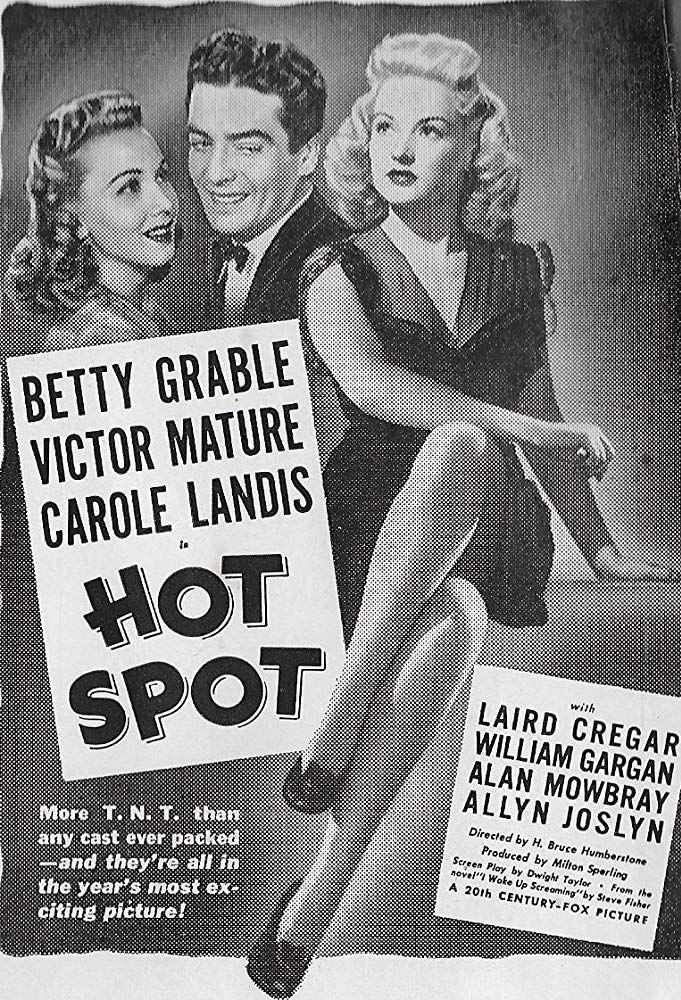 I Wake Up Screaming (1941) IMDb in 2019 Best film noir