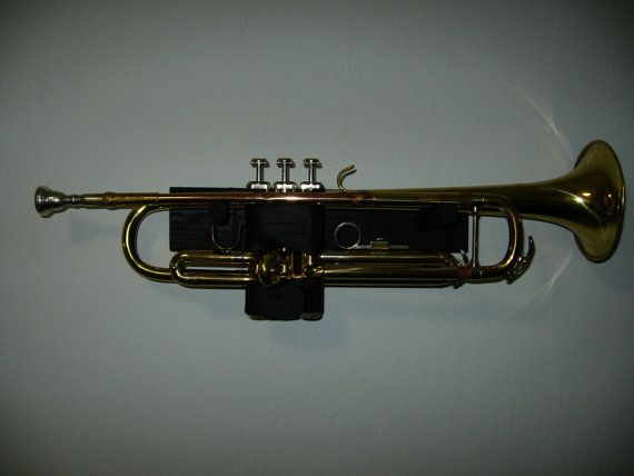Trumpet Amp Cornet Wall Display Mount All Colors By
