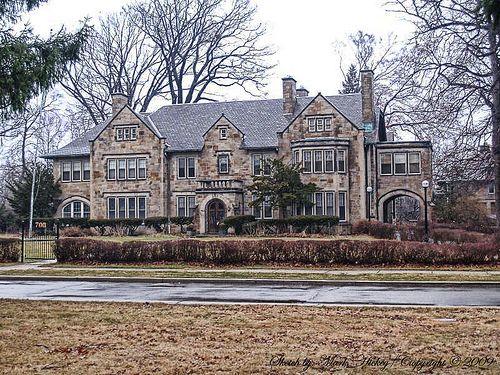 03 Boston Edison Historic District Detroit Mi Stone Hedge 700 West Boston Walter O Briggs Mansion Mansions Old Mansions American Mansions