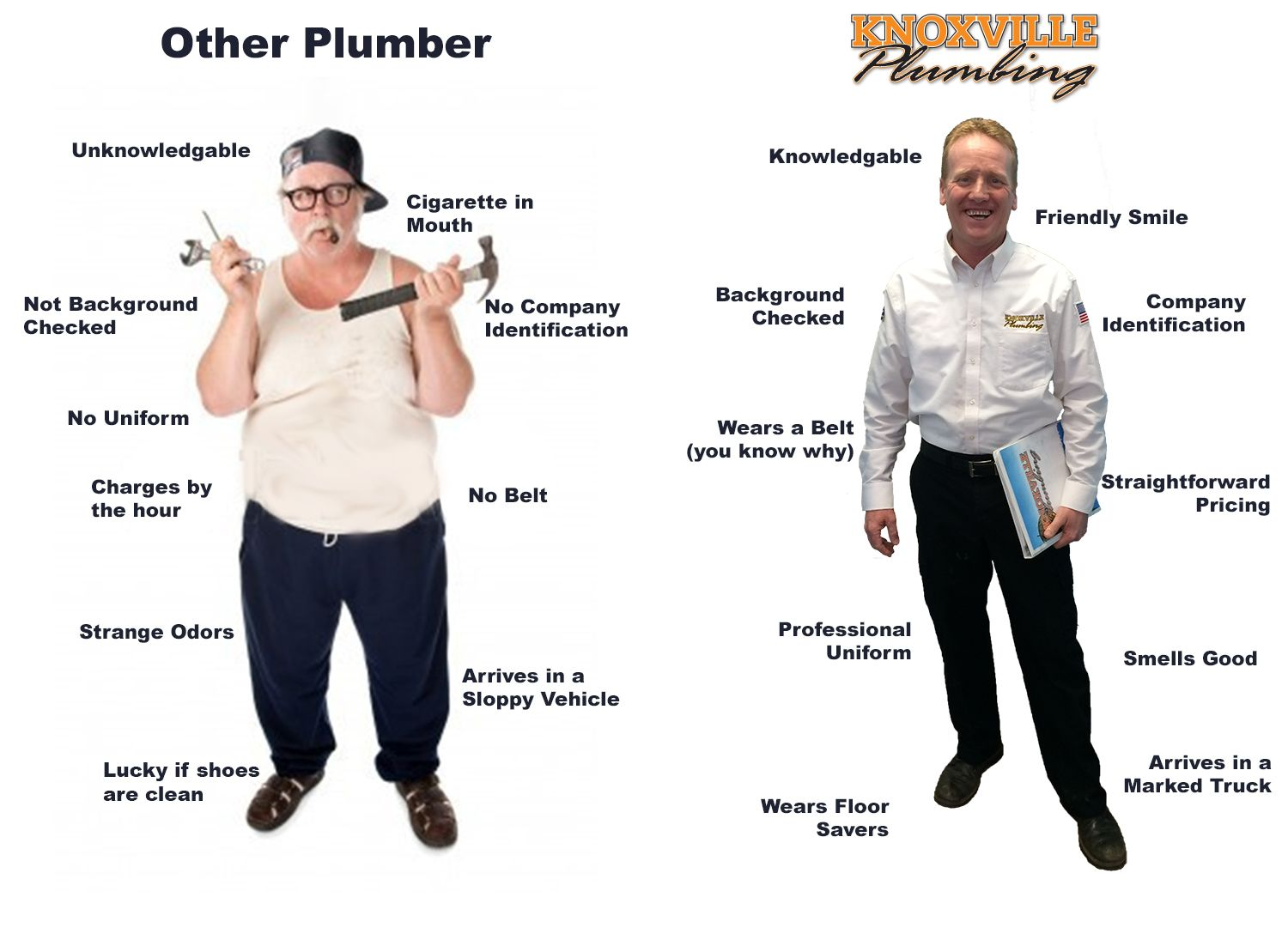 Which plumber do you want? Plumber, Knoxville
