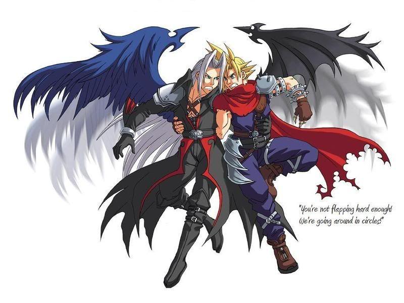 Anime Angel and Demon ...