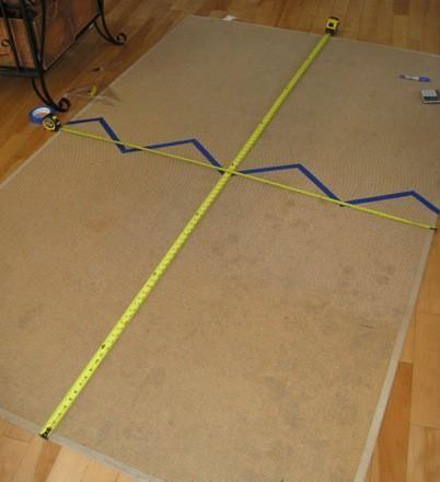 DIY Comment peindre un tapis de sisal déco Pinterest - peindre le carrelage sol
