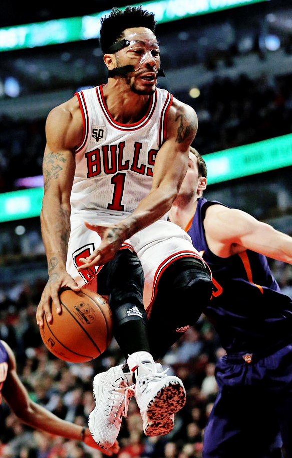 b2ef2fe43 Derrick Rose Chicago Bulls Basketball