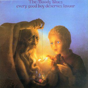 "MOODY BLUES ALBUM - ""Every Good Boy Deserves Favor"""